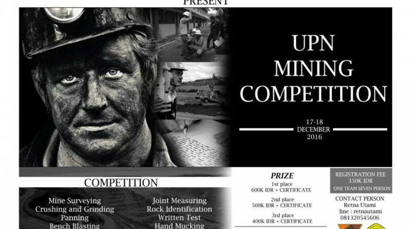 Upn Mining Competition